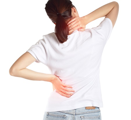 Sztywne plecy ból kręgosłup